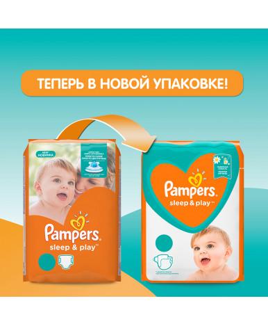 Подгузники Pampers Sleep&Play 4 (9-14кг) 14шт