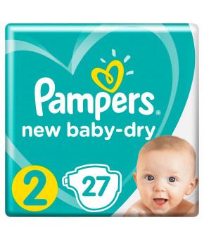 Подгузники Pampers New Baby 2 (4-8кг) 27шт