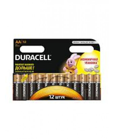 Батарейки Duracell АА-1.5V LR6 (12шт)