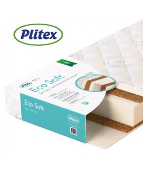 """Матрас """"Plitex"""", (EcoSoft), 119х60х12 см"""