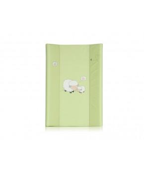 Доска для пеленания Lorelli зелёная с рисунком