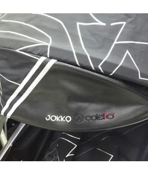 Коляска прогулочная Coletto Jokko black city
