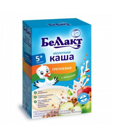 Каша Беллакт гречневая с яблоком молочная 250г