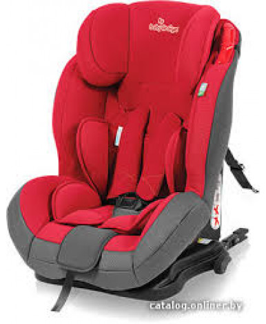 Автокресло Baby Design Bento серо-красное (9-36кг)