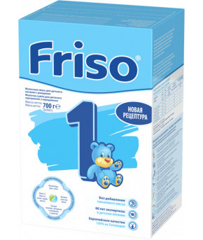 Смесь Friso Lac 1 LockNutri молочная, 700г