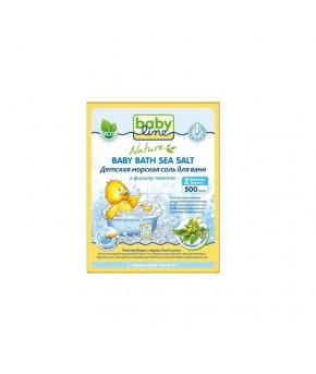 DN 84, Детская морская соль для ванн 500гр c Чередой  (в фильтр-пакетах), РОССИЯ, Nolken Hygiene Pro
