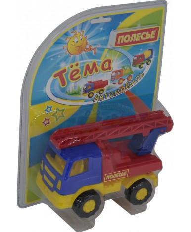 Автомобиль - пожарная Полесье Тёма спецмашина в блистере №2