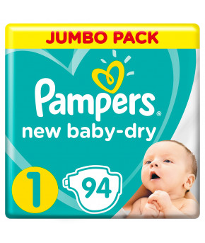 Подгузники Pampers New Baby 1 (2-5кг) 94шт