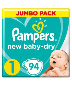 Подгузники Pampers New Baby 1 (2-5кг) 94шт