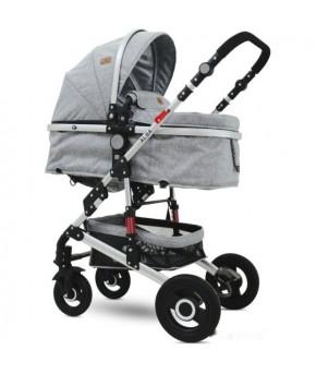 Модульная коляска 2 в 1 Lorelli Alba Light Grey 2020