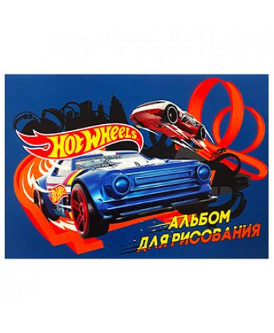 "Альбом д/рис. 20л. скрепка А4 ""Hot Wheels"""