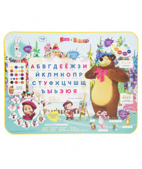 """Мебельный комплект """"Азбука 2"""" Маша и Медведь"""