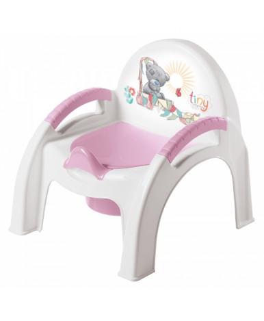 """Горшок-стульчик """"Пластишка"""" Me to you, розовый"""
