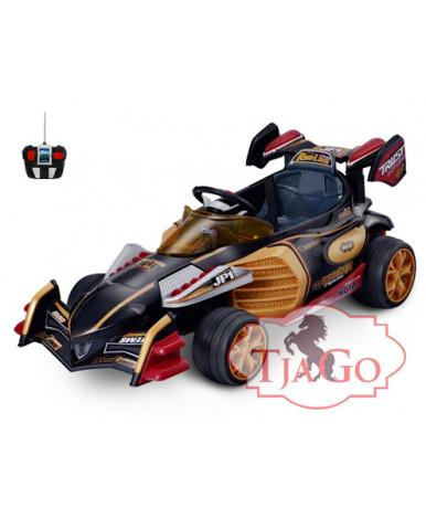 ЭлектроКарт TiaGo 3-6 лет, два мотора арт. 6v10AH коричневый