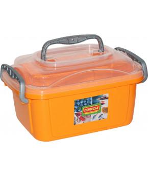 Контейнер Полесье №55 оранжевый, 370х255х207мм