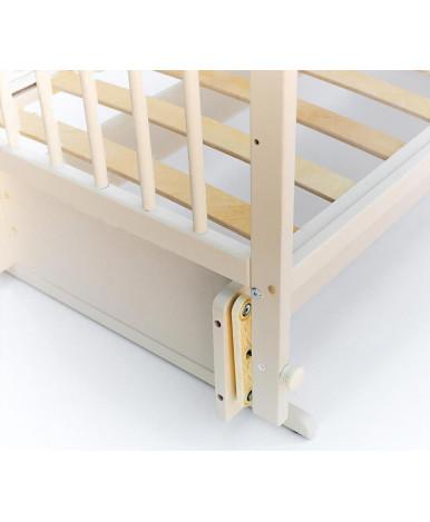 Кровать детская Bambini Euro Style 05, венге (тем. орех)/белый