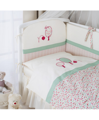 Комплект в кроватку Perina Клюковка 3пр