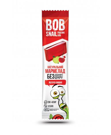 Фруктовый мармелад Bob Snail Яблоко Вишня Bob Snail 38г