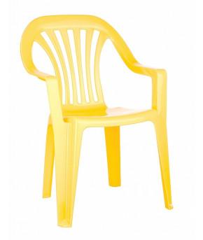 Стул Пластишка желтый