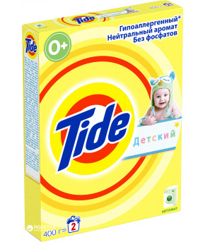 Стиральный порошок Tide гипоаллергенный, детский, 400г