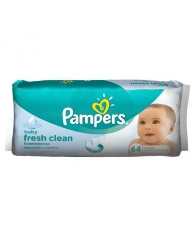 Салфетки влажные Pampers Baby Fresh Clean 64шт