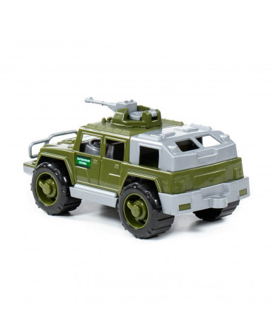 Автомобиль-джип Полесье пограничный Разведчик с 1-м пулемётом (РБ)