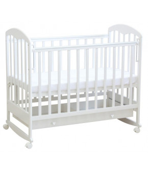 Кровать детская Фея 325, белый