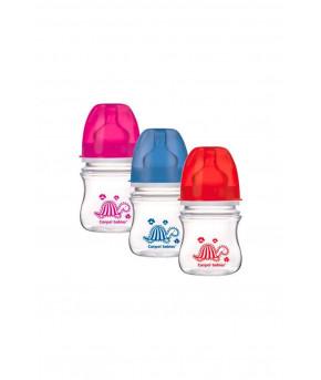 Бутылочка Canpol антиколиковая пластиковая силиконовая соска круглая 120мл
