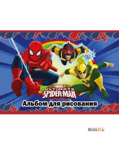 "Альбом д/рис. 20л. скрепка А4 ""Spider-man Classic"", твин УФ"