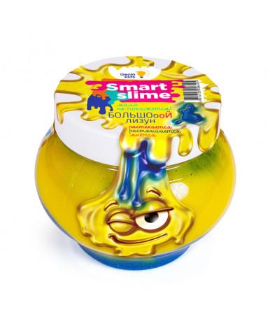 Игрушка-антистресс Genio Kids Мялка-жмялка желтый и синий 2в1