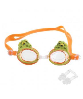 """Очки для плавания, детские """"Крокодильчик"""" 1560802"""