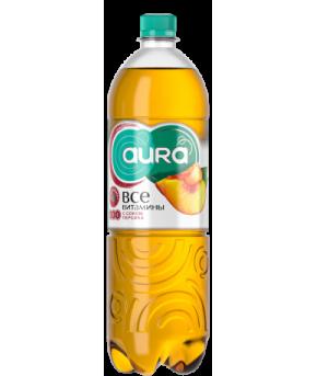 Напиток AURA с соком Персик 0,5л
