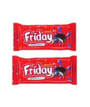 Печенье Friday черничный вкус, 63г.