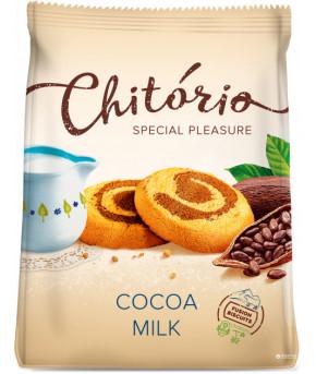 Печенье Слодыч Chitorio с какао и молоком 200г