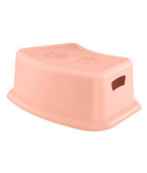 Подставка Пластишка для ног светло-розовая