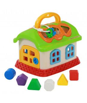 Развивающая игрушка-сортер Полесье Сказочный домик