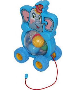 Игрушка-каталка Полесье на шнурке Бимбосфера - Слонёнок