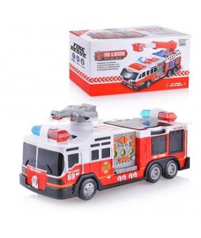 Автомобиль-пожарная  на батарейках