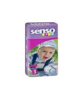 Подгузники Senso Baby 3 (4-9кг) 44шт