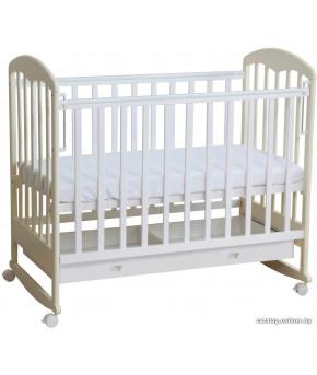 Кровать детская Фея 325, белый/ваниль