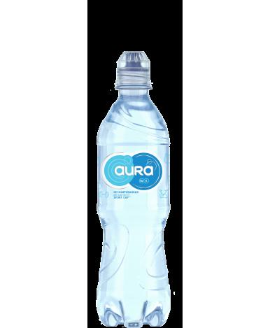 Вода Aura питьевая негазированная Sport-cap 0,5л