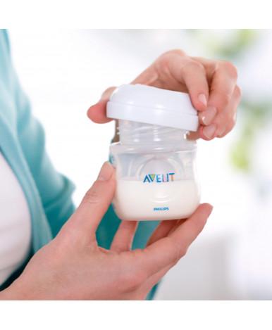Электронный молокоотсос Ultra Comfort с бутылочками (2 шт.), контейнерами для хранения (10 шт.), про
