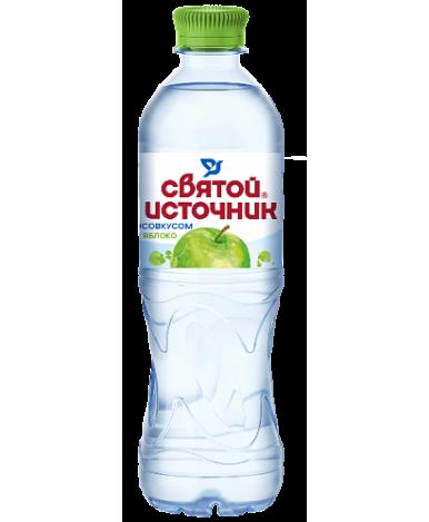 Вода Святой источник со вкусом яблока 0,5л