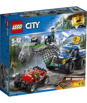 Конструктор Lego City Погоня по грунтовой дороге