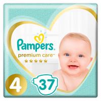 Подгузники Pampers Premium Care 4 (9-14кг) 37шт