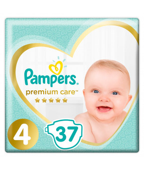 Подгузники Pampers Premium Care 4 (9-14кг) 37шт