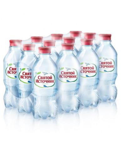 Вода Святой источник питьевая 0,33л