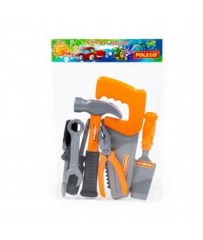 Набор инструментов Полесье №7 (7 элементов) (в пакете)