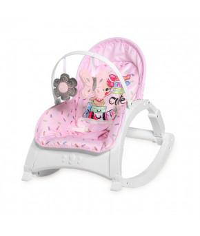 Детский шезлонг Lorelli Enjoy Pink Travelling