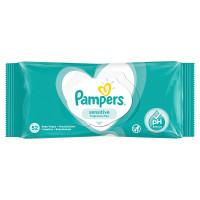 Салфетки влажные Pampers Sensitive 52шт